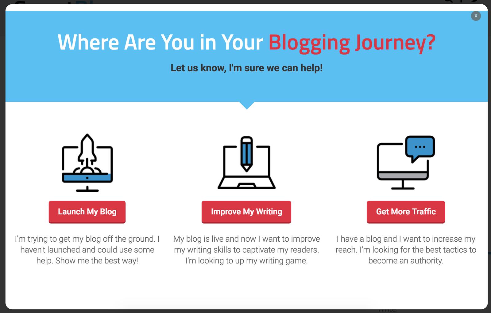 smartblogger segmentation