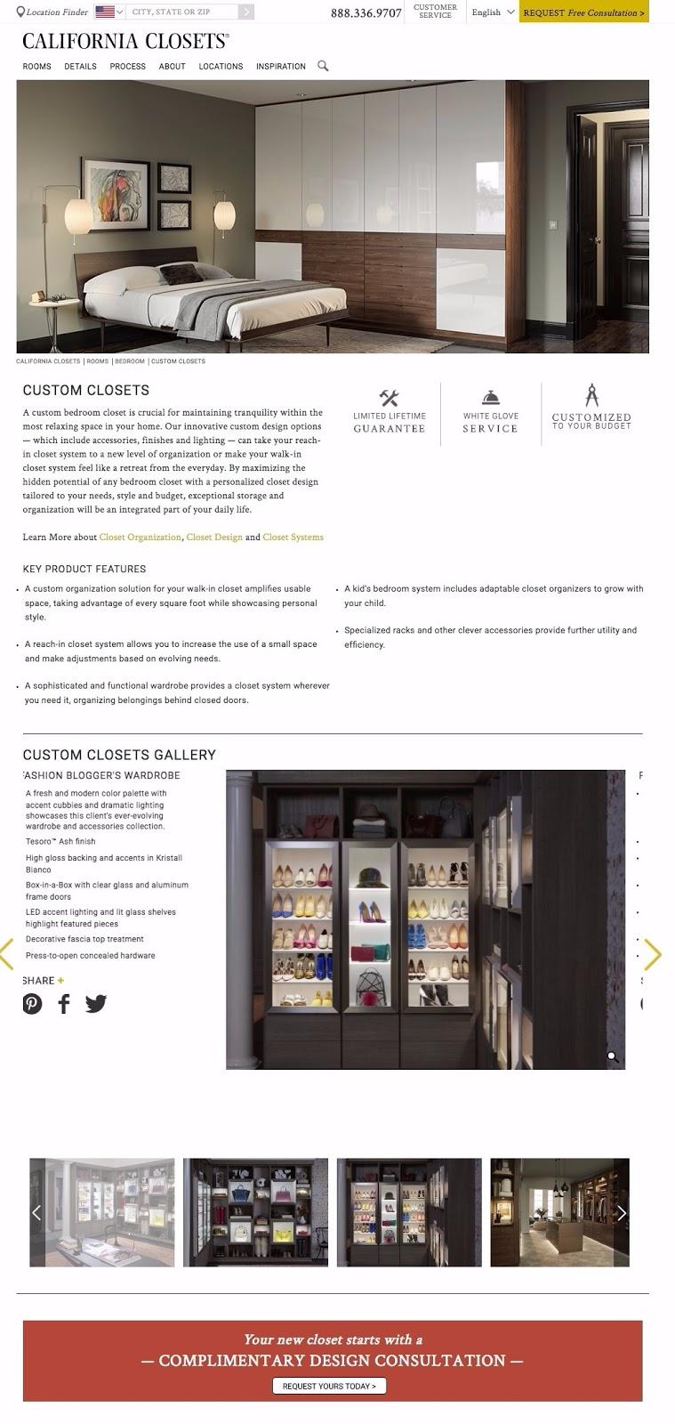 closet consultation