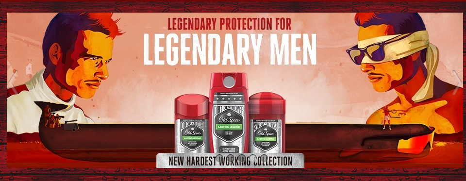 old spice legendary men