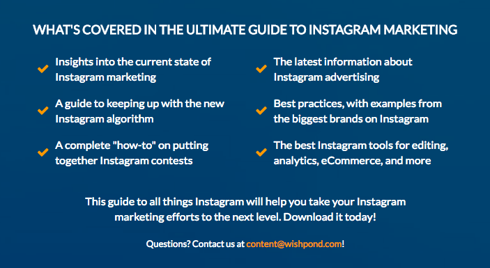 wishpond guide to instagram