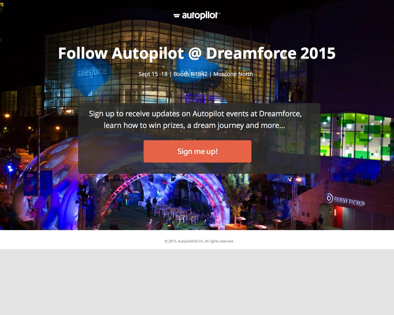 autopilot dreamforce