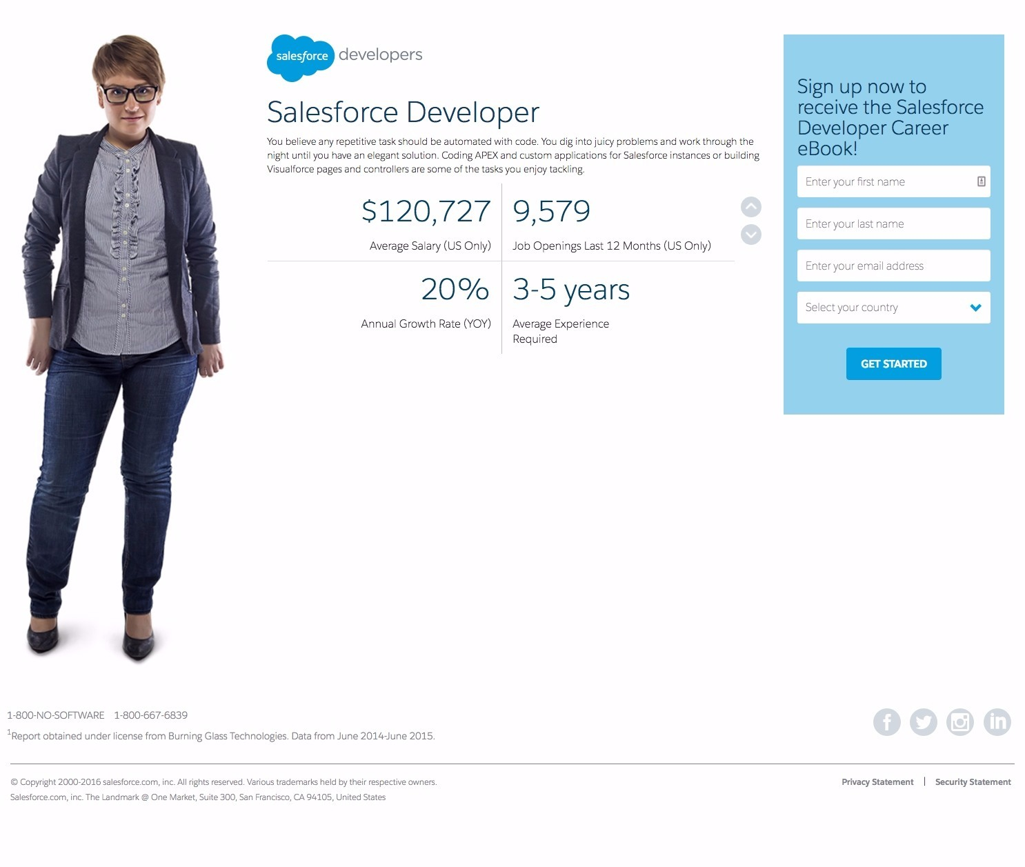101 of the best landing pages analyzed learn landing pages salesforce ebook fandeluxe Image collections