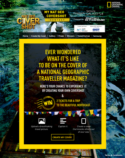 social media campaign ideas natgeo