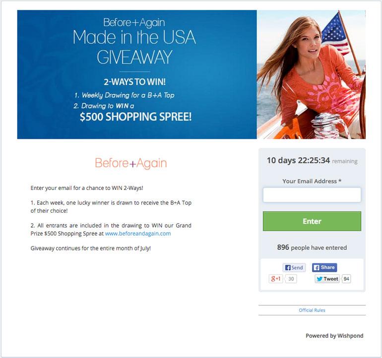 facebook giveaway ideas multipleprizes
