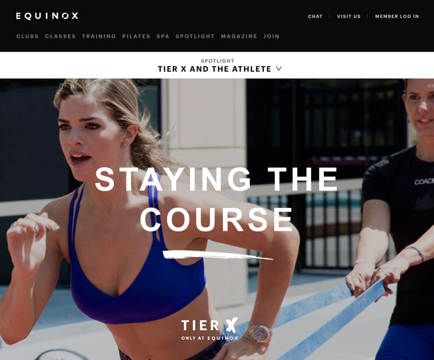 fitness social media equinox 2 1
